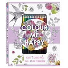 Alvilda Malebog Color Me Happy m. Farveblyanter