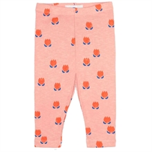 Bobo Choses Chocolate Flowers All Over Leggings Light Rose
