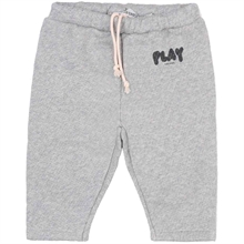 Bobo Choses Play Jogging Pants Quiet Gray