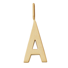 Design Letters Archetype Large Charm GOLD Plated