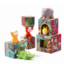 Djeco Blocks for Infants Topanijungle