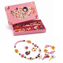 Djeco Jewellery Set Wood Flower