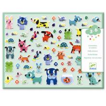 Djeco Stickers Puffy My Little Friends