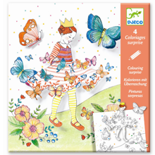 Djeco Creative Drawing Butterflies