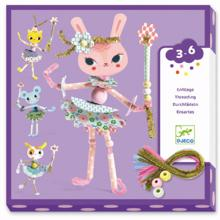 Djeco Lace-Up Cards My Fairies