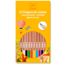 Djeco The Colours -12 Pencils