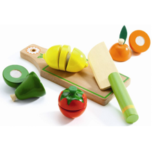 Djeco Role Play Fruit And Vegetables To Cut