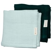 Fabelab Muslin Cloth 2-pack Sprout
