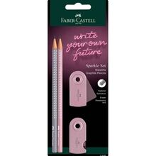 Faber Castell Grip Sparkle Pencil 2 pcs.