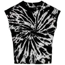 Finger In The Nose Brynn Black / White Tie & Dye Top