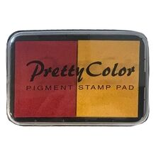 Goki Pigment Stamp Pad Red/Yellow