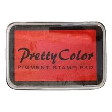 Goki Pigment Stamp Pad Light Red