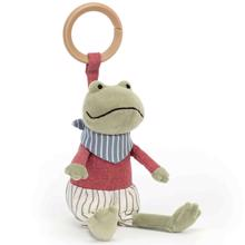Jellycat Little Rambler Frog Activity Toy 13 cm