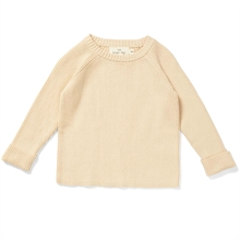 Konges Sløjd Meo Knit Bluse Cotton Off White