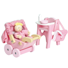 Le Toy Van Nursery Set And Baby