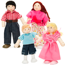 Le Toy Van Budkin Family Set