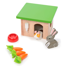 Le Toy Van Daisylane Pet Set Rabbit and Hamster