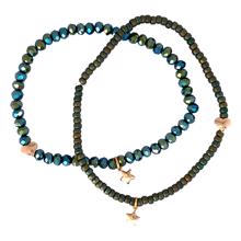 Heroes and Stars Support Bracelet - Bluegreen