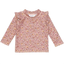 Soft Gallery Misty Rose AOP Flower Swim Fee Sun Baby Bathing Bluse
