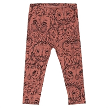 Soft Gallery Burlwood Owl Paula Baby Leggings