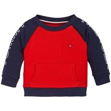 Tommy Hilfiger Baby Colorblock Genser Twilight Navy