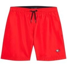 Tommy Hilfiger Medium Drawstring Badeshorts Primary Red