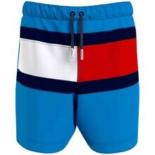 Tommy Hilfiger Medium Drawstring Badeshorts Hyper Blue