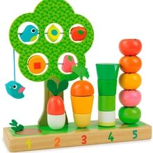 Vilac Vegetables Counting Game