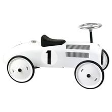 Vilac Race Car Vintage White