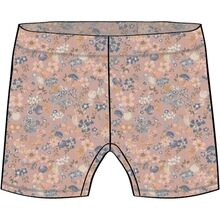 Wheat Flowers And Seashells Swim Shorts Niki
