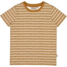 Wheat Caramel Stripes Wagner T-Shirt